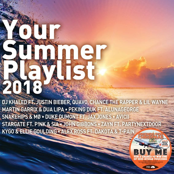 YOUR SUMMER PLAYLIST 2018 (2CD)