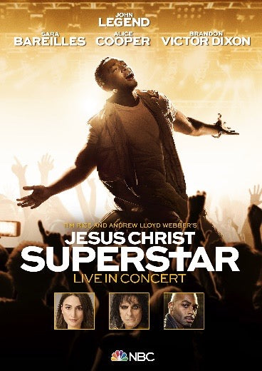 JESUS CHRIST SUPERSTAR LIVE IN CONCERT (ORIGINAL SOUNDTRACK OF THE NBC TELEVISION EVENT) (DVD VERSION)