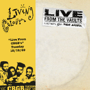 LIVE FROM CBGB'S (RSD EXCLUSIVE)