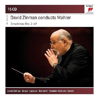 David Zinman Conducts Mahler Symphonies (15CD)