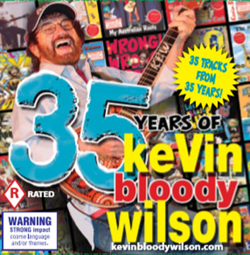35 Years Of Kevin Bloody Wilson 2CD