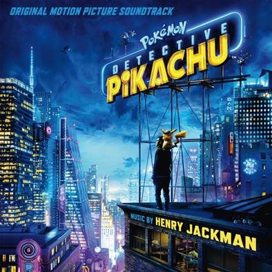 POKEMON DETECTIVE PIKACHU (ORIGINAL MOTION PICTURE SOUNDTRACK) (CD)
