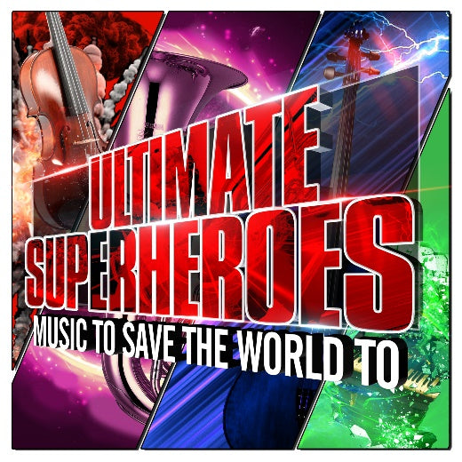 Ultimate Superheroes CD