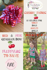 Picnic Blanket Hair Bows - LilaReneeCreations