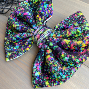 Magic Eye Velvet Noel Bows