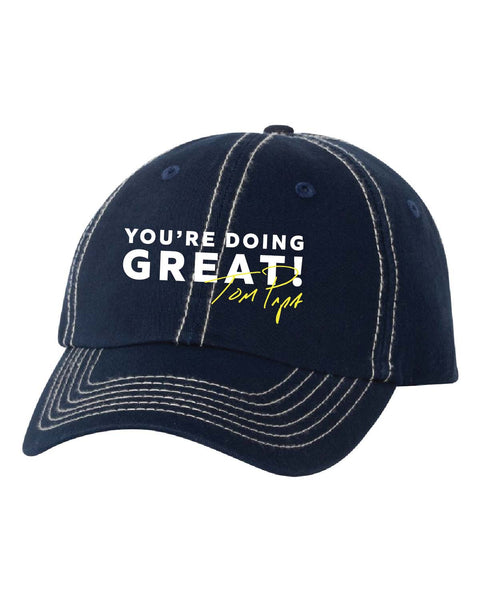You're Doing Great Dad Hat (Navy)
