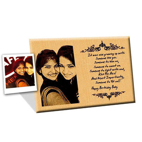 customize wooden frame - Engraved Picture Frame