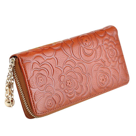 Female Leather Clutch / Wallet