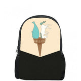 Double Cone Printed Backpacks