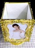 Customize Rotating Jewelry Box (Golden)