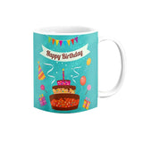 Happy Birthday Printed Mug