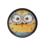 Minion Printed Round Clock