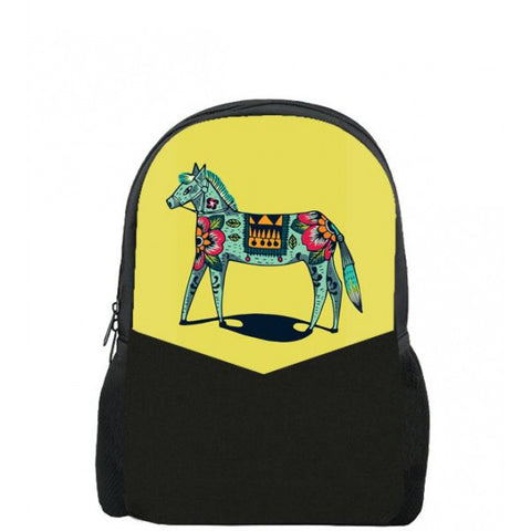 Colour Horse Printed Backpacks