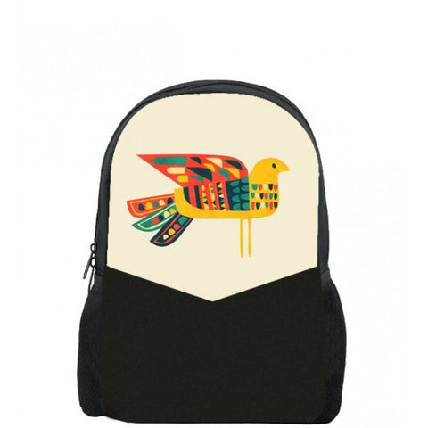 Colour Bird Printed Backpacks