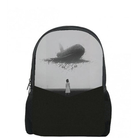 Airplane Printed Backpacks