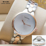 Golden And Silver Tone Watch