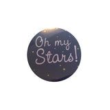Oh My Stars Printed Button Badge