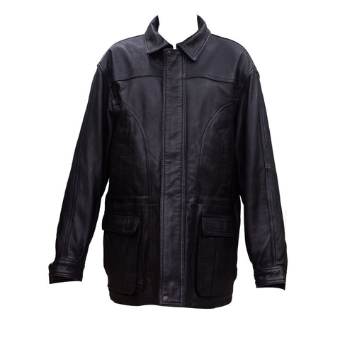 Full Sleeves Leather Jacket