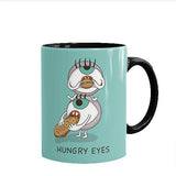 Hungry Eyes Printed Mug