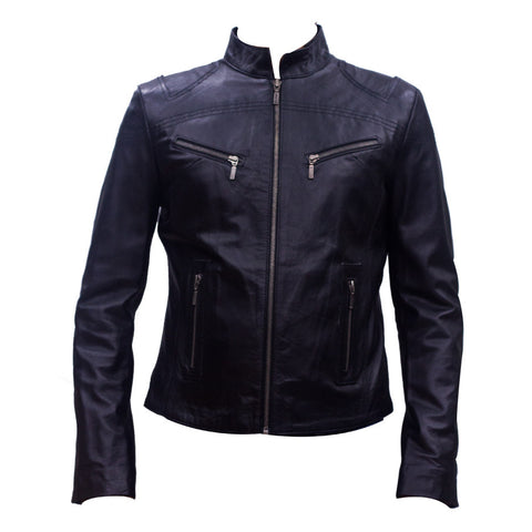 Ladies Jacket 4 Zipper Pockets