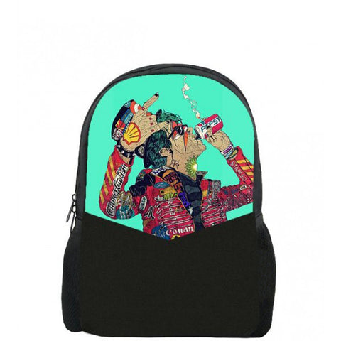 Bad Boy Printed Backpacks