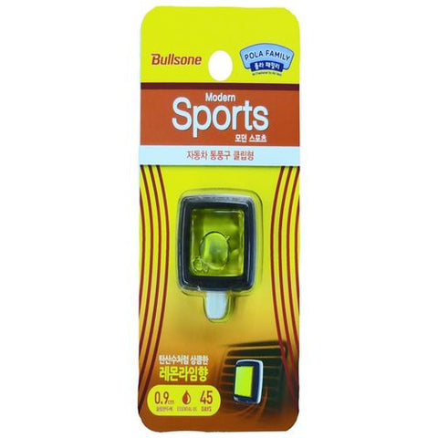 BULLSONE Modern Sports Vent Clip - Lemon Lime