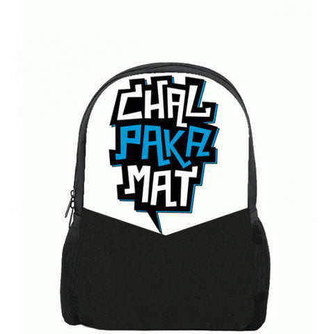 Chal Paka Mat Printed Backpacks