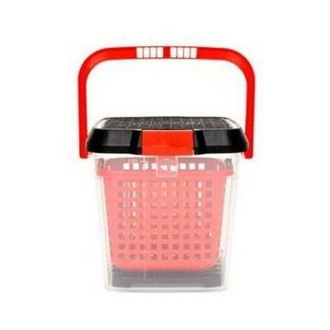 BULLSONE Multi Purpose Bucket - Red & Black