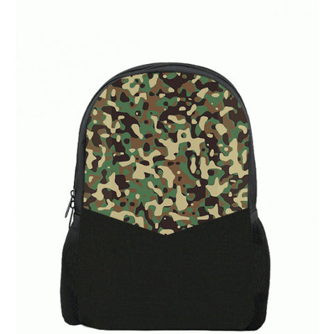 Camouflag Army Printed Backpacks