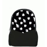 Diamond Printed Backpacks