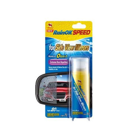 BULLSONE Extreme Rain Repellent For Side View Mirror