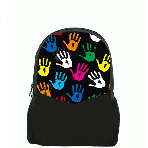 Colourful Hand Printed Backpacks