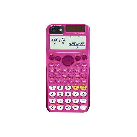 Calculator Printed Back Cover
