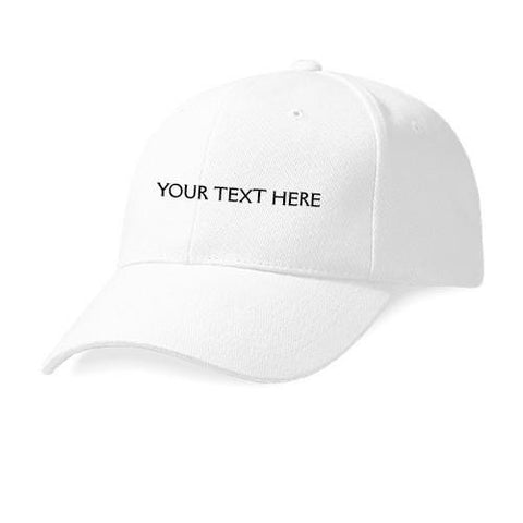 Customize White Cap
