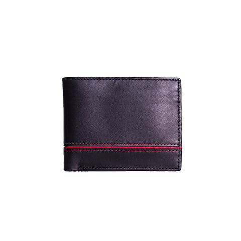 Skin Wallet With Red line Across