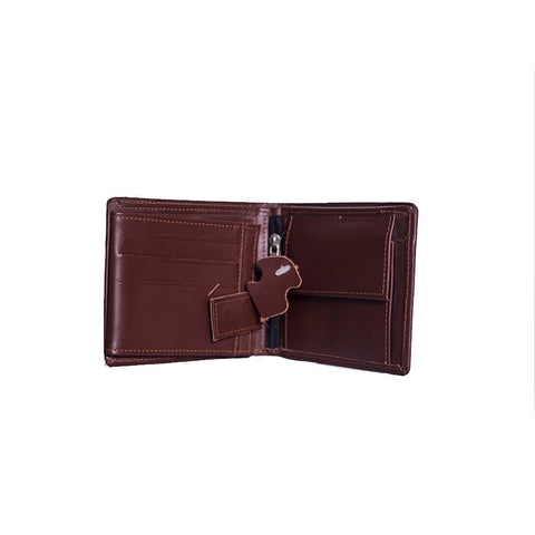 Customized Plain Leather Wallet