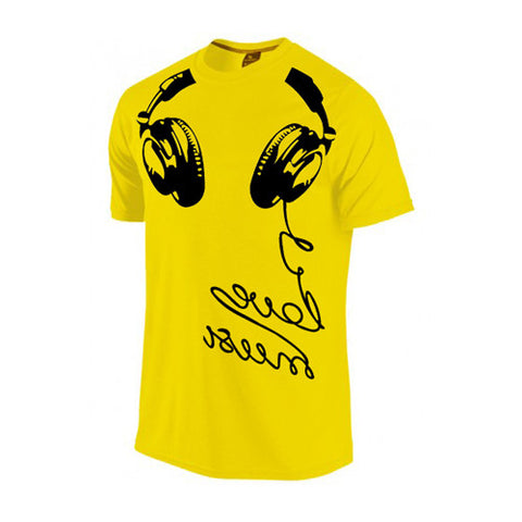 Headphone Printed T-Shirt