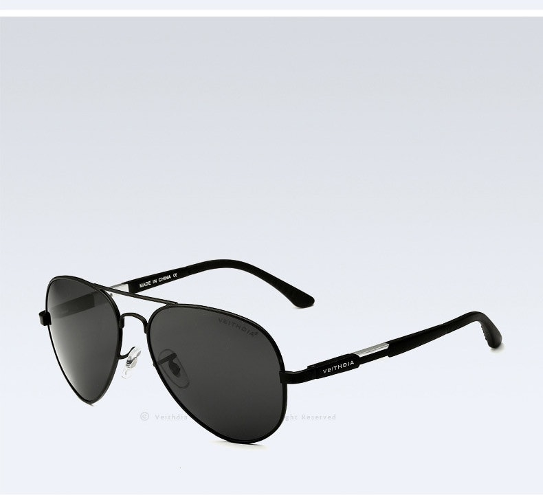 Men's Aviators 60 X 50 Mm Pilot Polycarbonate...