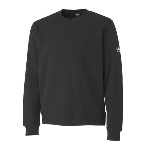 Salford Sweater With Logo Left Sleeve