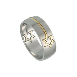 Bague Judaica Etoile d'or-O-Judaisme