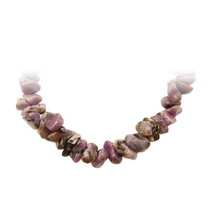 Bracelet baroque - Rhodonite-O-Judaisme