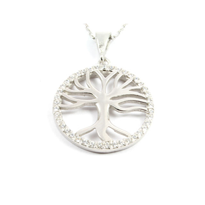Collier Arbre de Vie - Argent ou Or-O-Judaisme