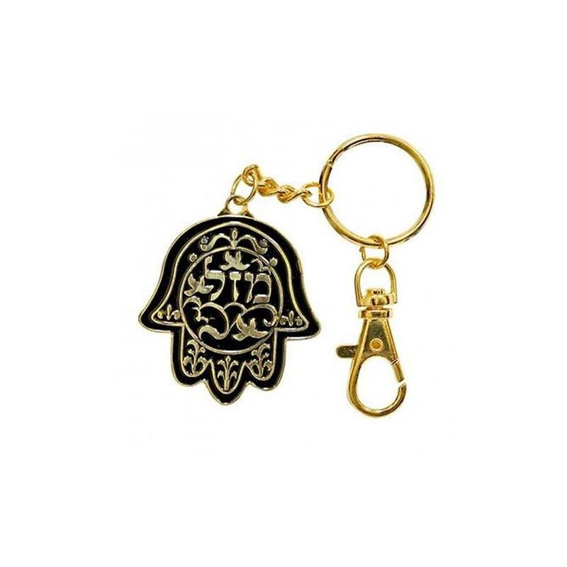 Hamsa Mazal d'or Porte Chance-O-Judaisme