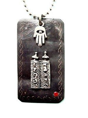 Pendentif Main protectrice du Sefer Thora-O-Judaisme