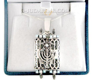 Pendentif Sefer Thora et son secret-O-Judaisme