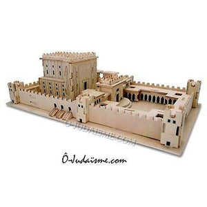 "Puzzle en 3D ""Temple du Roi Salomon""-O-Judaisme"