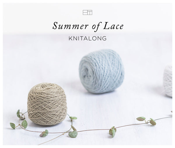 Brooklyn Tweed Summer of Lace KAL、始まりました!