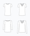 Lark Tee: Grainline Studio sewing pattern