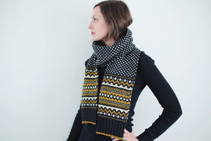 Le Massif Scarf キット (日本語パターン付き)