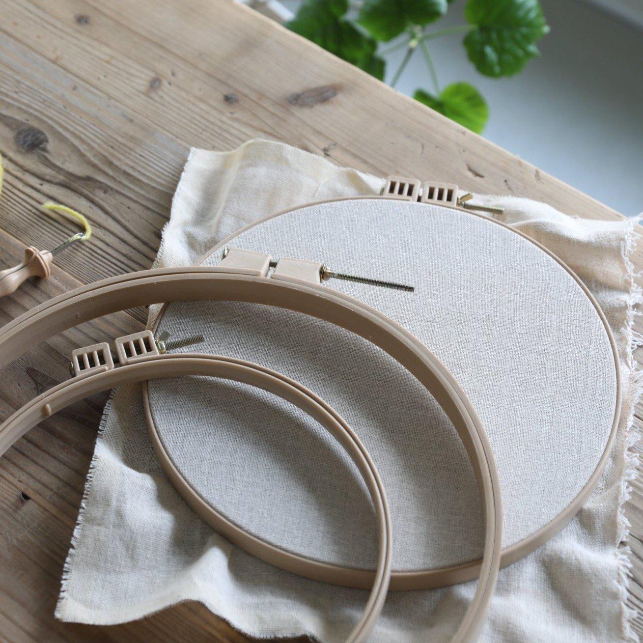 Punch Needle Hoop